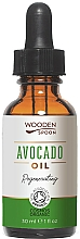 Fragrances, Perfumes, Cosmetics Avocado Oil - Wooden Spoon Avocado Oil
