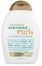 Fragrances, Perfumes, Cosmetics Curly Hair Conditioner - OGX Coconut Curls Conditioner