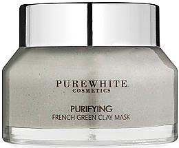 Fragrances, Perfumes, Cosmetics Purifying French Green Clay Mask - Pure White Cosmetics Purifying French Green Clay Mask