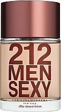 Fragrances, Perfumes, Cosmetics Carolina Herrera 212 Sexy Men - After Shave Lotion