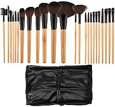 Fragrances, Perfumes, Cosmetics Professional Makeup Brushes Set, 24 pcs - Tools For Beauty