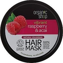 Fragrances, Perfumes, Cosmetics Hair Mask - Organic Shop Raspberry & Acai Hair Mask