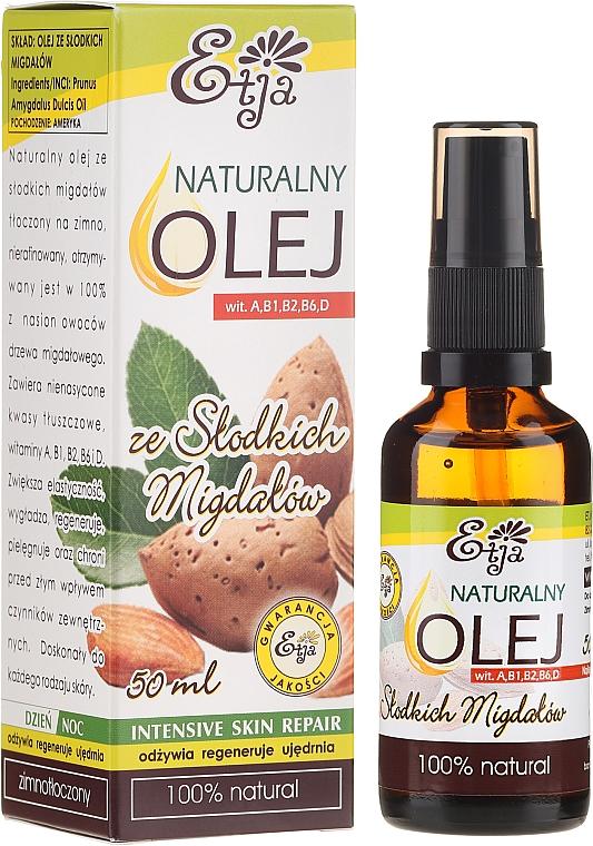 Natural Almond Oil - Etja