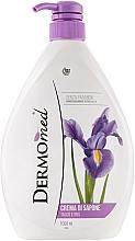 Fragrances, Perfumes, Cosmetics Talc and Iris Cream Soap - Dermomed Cream Soap Talc And Iris
