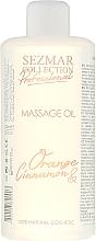 Fragrances, Perfumes, Cosmetics Orange & Cinnamon Massage Oil - Sezmar Collection Professional Massage Oil Orange Cinnamon
