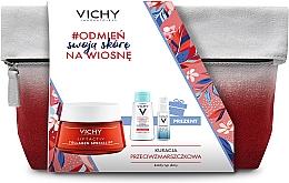 Fragrances, Perfumes, Cosmetics Set - Vichy Liftactiv (f/ser/10ml + micellar water/100ml + f/cr/50ml + bag)
