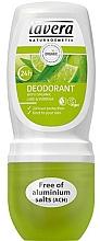"Fragrances, Perfumes, Cosmetics Roll-On Deodorant ""Verbena & Lime"" - Lavera 24h Deodorant"