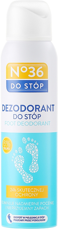 Foot Deodorant with Talcum Powder - Pharma CF No.36 Dezodorant