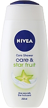 "Fragrances, Perfumes, Cosmetics Care Shower Gel ""Star Fruit"" - Nivea Free Time Shower Gel"