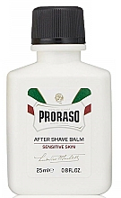 Fragrances, Perfumes, Cosmetics Anti-Irritation After Shave Cream - Proraso Liquid After Shave Balm for Sensitive Skin (mini size)
