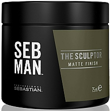 Fragrances, Perfumes, Cosmetics Modeling Hair Mint Clay - Sebastian Professional SEB MAN The Sculptor