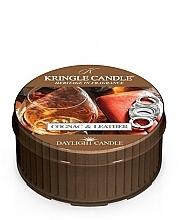 Fragrances, Perfumes, Cosmetics Tea Light - Kringle Candle Cognac & Leather