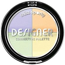 Fragrances, Perfumes, Cosmetics Face Corrector - Miss Sporty Designer Corrective Palette
