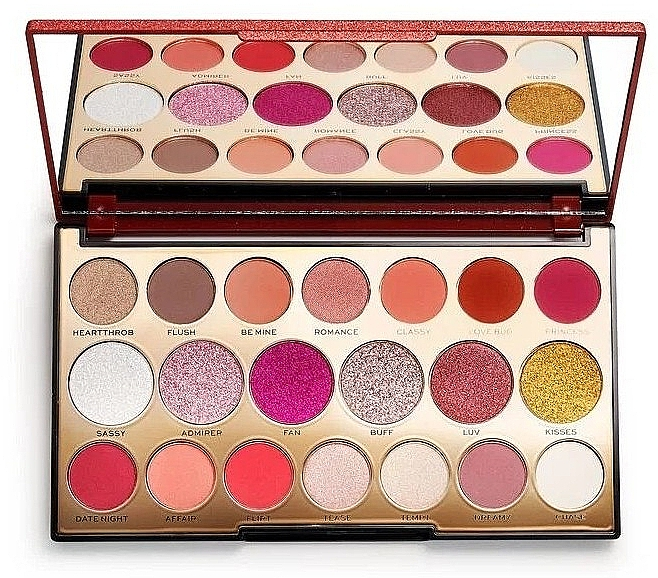 Eyeshadow Palette, 20 shades - Makeup Revolution Precious Stone