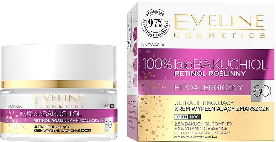 Ultralifting Wrinkle Filler-Cream 60+ - Eveline Cosmetics BioBakuchiol