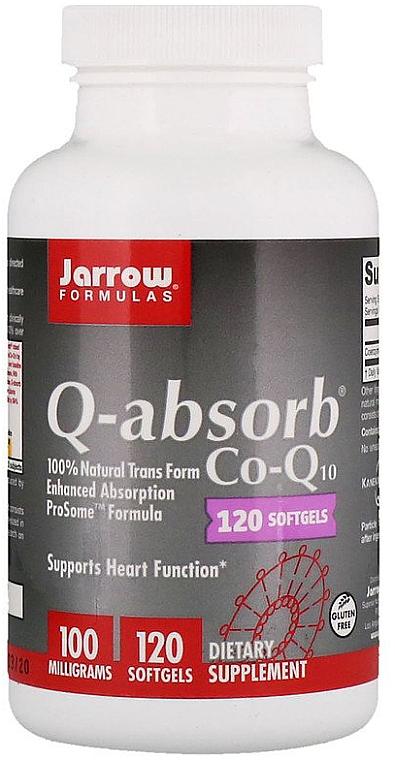 Coenzyme Q10 Softgel Capsules - Jarrow Formulas Q-Absorb 100 mg