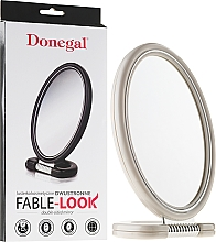 Fragrances, Perfumes, Cosmetics Double-Sided Mirror, 9503, white - Donegal Mirror