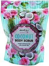 Fragrances, Perfumes, Cosmetics Coconut Body Scrub - Derma V10 Exfoliating Coconut Body Scrub