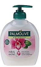 "Fragrances, Perfumes, Cosmetics Liquid Soap Naturel ""Dark Orchid"" - Palmolive Naturel"