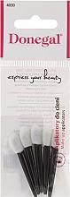 Fragrances, Perfumes, Cosmetics Eyeshadow Applicator, 5 pcs, black-white - Donegal Eyeshadow Applicator