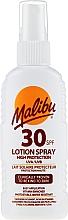 Fragrances, Perfumes, Cosmetics Body Sunscreen Lotion Spray - Malibu Sun Lotion Spray High Protection Water Resistant SPF 30