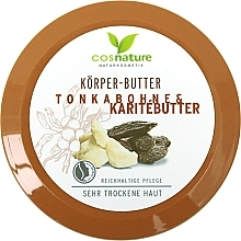 Fragrances, Perfumes, Cosmetics Body Tonka Beans & Shea Butter - Cosnature Body Butter Tonka Bean & Shea Butter