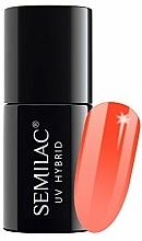 Fragrances, Perfumes, Cosmetics Nail Polish - Semilac Thermal UV Hybryd Nail Polish