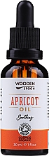 Fragrances, Perfumes, Cosmetics Apricot Oil - Wooden Spoon Apricot Oil