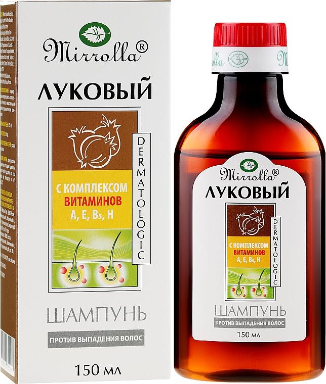 Vitamin Complex Onion Shampoo - Mirrolla
