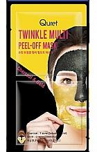 Fragrances, Perfumes, Cosmetics Exfoliating Mask - Quret Twinkle Multi Peel-Off Mask