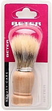 Fragrances, Perfumes, Cosmetics Shaving Brush with Wooden Handle - Beter Beauty Care