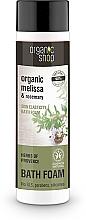 "Fragrances, Perfumes, Cosmetics Bubble Bath ""Skin Elasticity. Provencal Herbs"" - Organic Shop Organic Melissa and Rosemary Antistress Bath Foam"