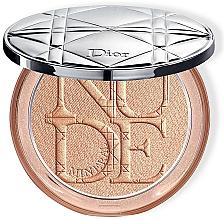 Fragrances, Perfumes, Cosmetics Face Powder - Dior Diorskin Mineral Nude Luminizer Powder