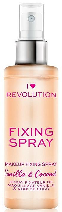 Makeup Fixing Spray - I Heart Revolution Fixing Spray Vanilla & Coconut