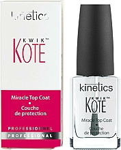 Fragrances, Perfumes, Cosmetics Fast Dry Top Coat - Kinetics Kwik Kote Miracle Top Coat