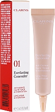 Fragrances, Perfumes, Cosmetics Concealer - Clarins Everlasting Long-Wearing And Hydration Concealer