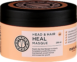 Fragrances, Perfumes, Cosmetics Anti-Dandruff Hair Mask - Maria Nila Head & Hair Heal Masque