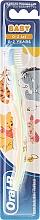 "Fragrances, Perfumes, Cosmetics Extra Soft Toothbrush, ""Tigger"", green & orange - Oral-B Baby"