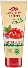 Fragrances, Perfumes, Cosmetics Body Balm - Giardino Dei Sensi Ecobio Goji Berries Fluid Cream