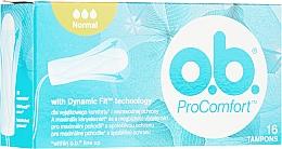 Fragrances, Perfumes, Cosmetics Tampons, 16 pcs - o.b. ProComfort Normal Tampons