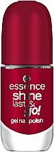 Fragrances, Perfumes, Cosmetics Gel-Effect Nail Polish - Essence Shine Last & Go! Gel Nail Polish