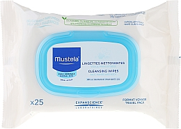 """Fragrances, Perfumes, Cosmetics Cleansing Facial Wipes """"Travel Pack"""" - Mustela Facial Cleansing Wipes"""