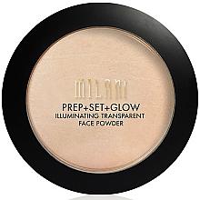 Fragrances, Perfumes, Cosmetics 32-in-1 Facial Powder+Primer+Glow - Milani Prep + Set + Glow Illuminating Transparent Powder