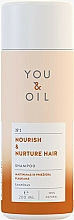 Fragrances, Perfumes, Cosmetics Hair Shampoo 'Nourishment and Care' - You&Oil Nourish & Nurtere Hair Shampoo