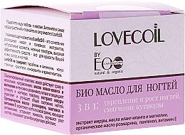 Fragrances, Perfumes, Cosmetics Nail Bio-Oil 3 in 1 - ECO Laboratorie Lovecoil Nail Care Bio-Oil 3 in 1