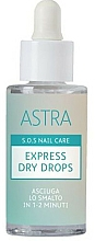 Fragrances, Perfumes, Cosmetics Express Dry Drops - Astra Make-up Sos Nails Care Express Dry Drops