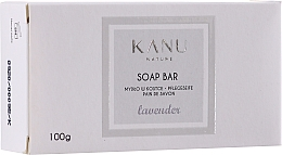 "Fragrances, Perfumes, Cosmetics Hand & Body Soap Bar ""Lavender"" - Kanu Nature Soap Bar Lavender"