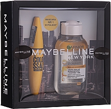 Fragrances, Perfumes, Cosmetics Set - Maybelline (mascara/10.7ml + micellar water/100ml)