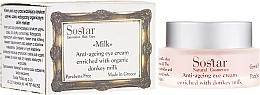Fragrances, Perfumes, Cosmetics Anti-Aging Eye Cream - Sostar Anti-Aging Eye Cream Enriched With Donkey Milk