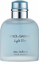 Fragrances, Perfumes, Cosmetics Dolce & Gabbana Light Blue Eau Intense Pour Homme - Eau de Parfum
